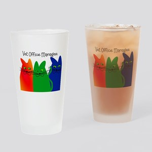vet office manager Drinking Glass