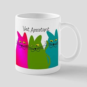 Vet Assistant whim cats Mug