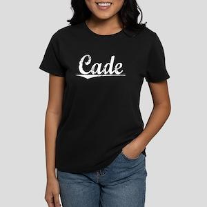 Cade, Vintage Women's Dark T-Shirt