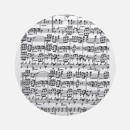 Music Ornament (Round)