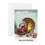Get Stuffed! Christmas cards (Pk of 10)