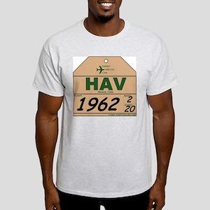 HAV Havana, Cuba Ash Grey T-Shirt