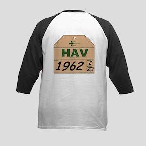 HAV Havana, Cuba Kids Baseball Jersey
