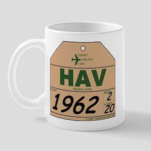HAV Havana, Cuba Mug