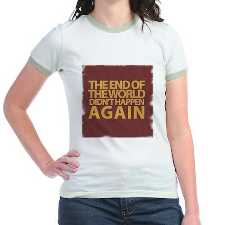 END OF THE WORLD Jr. Ringer T-Shirt
