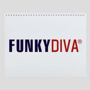FunkyDiva Wall Calendar