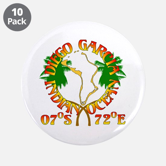 "Diego Garcia Roundell 3.5"" Button (10 pack)"