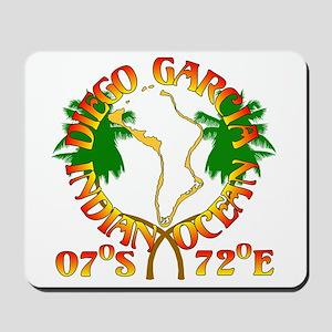 Diego Garcia Roundell Mousepad