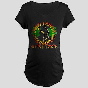 Diego Garcia Roundell Maternity Dark T-Shirt