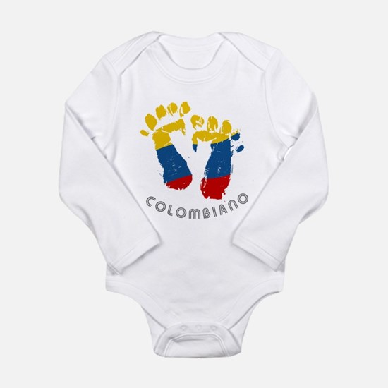 Cute Barranquilla colombia Long Sleeve Infant Bodysuit