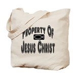 Property of Jesus Christ Tote Bag