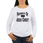 Property of Jesus Christ Women's Long Sleeve T-Shi