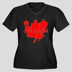 OH !! CANADA Plus Size T-Shirt