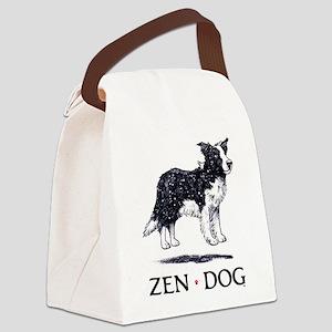 2-ZenDog2.0.4 Canvas Lunch Bag