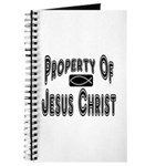 Property of Jesus Christ Journal