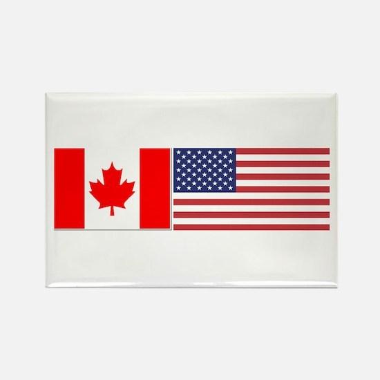 Canada / USA - Rectangle Magnet