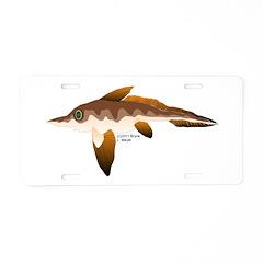 Longnosed Ratfish (Chimera) Aluminum License Plate