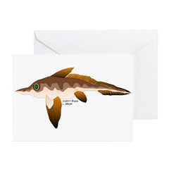 Longnosed Ratfish (Chimera) Greeting Cards (Pk of