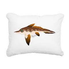 Longnosed Ratfish (Chimera) Rectangular Canvas Pil