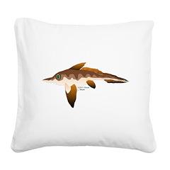 Longnosed Ratfish (Chimera) Square Canvas Pillow