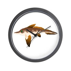 Longnosed Ratfish (Chimera) Wall Clock