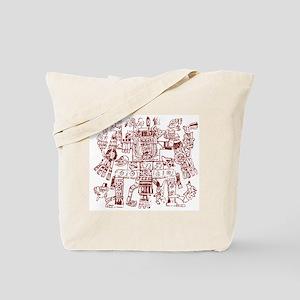 Aztec Artwork Tote Bag