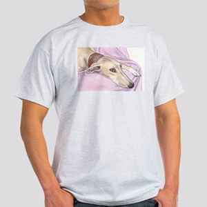 Lurcher on sofa Light T-Shirt