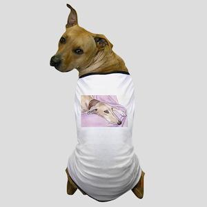 Lurcher on sofa Dog T-Shirt
