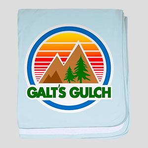 Galts Gulch baby blanket