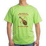 No Luting Please Green T-Shirt