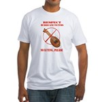 No Luting Please Fitted T-Shirt