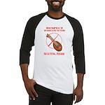 No Luting Please Baseball Jersey