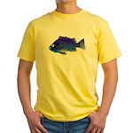 Blue Rockfish (Blue Perch) Scorpionfish fish Yello