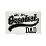 World's Greatest Dad Rectangle Magnet