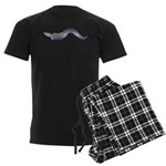 Conger Eel fish Men's Dark Pajamas