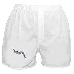 Conger Eel fish Boxer Shorts
