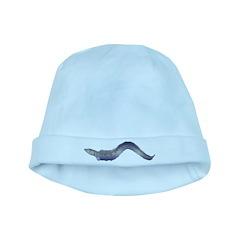 Conger Eel fish baby hat