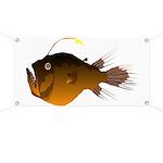 Deep Sea Angler fish fish Banner