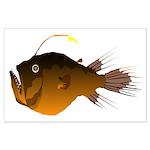 Deep Sea Angler fish Large Poster