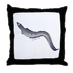 Conger Eel fish Throw Pillow