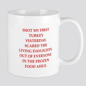 turkey shoot Mug