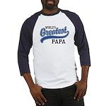 World's Greatest Papa Baseball Jersey