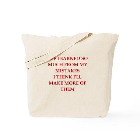 mistake Tote Bag