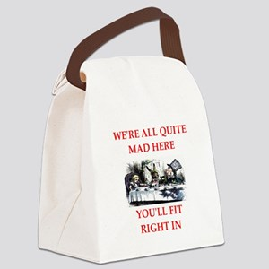 madness Canvas Lunch Bag