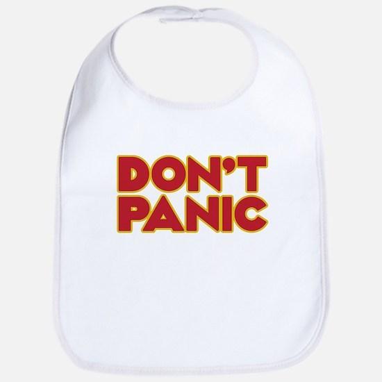 Don't Panic Baby Bib