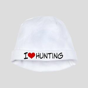 I Heart Hunting baby hat