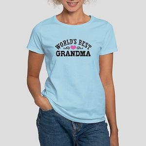 World's Best Grandma Women's Light T-Shirt