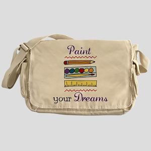 Paint Your Dreams Messenger Bag