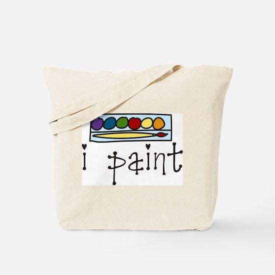 I Paint Tote Bag