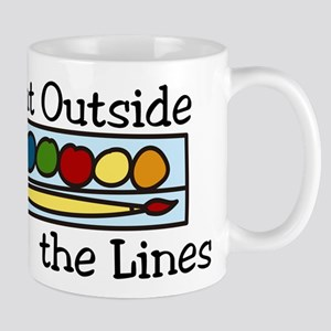 Paint Outside The Lines Mug